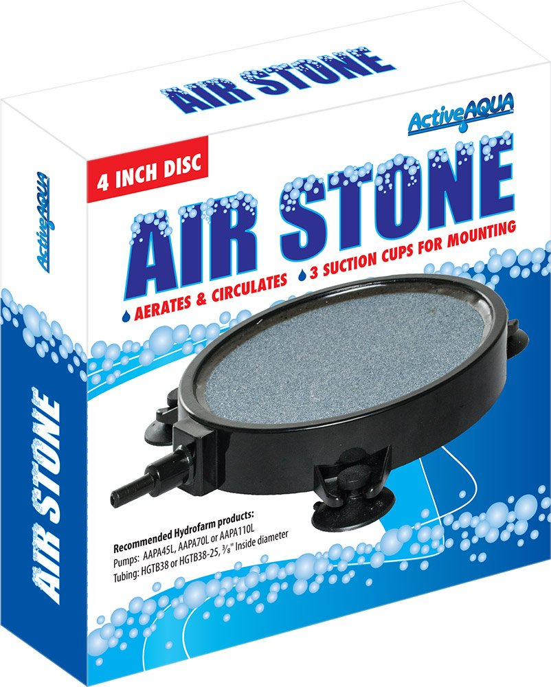 Amazon.com : Active Aqua AS4RD Round Air Stone, 4 Inch : Garden ...