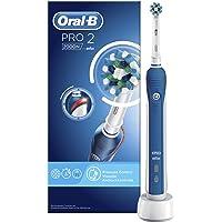 Oral-B PRO 2 2000N CrossAction Oplaadbare Elektrische Tandenborstel - 1 Handvat, 1 Opzetborstel