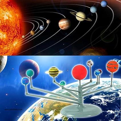 Amazon Com Diy Solar System Model Kit Planetarium Simulation 8