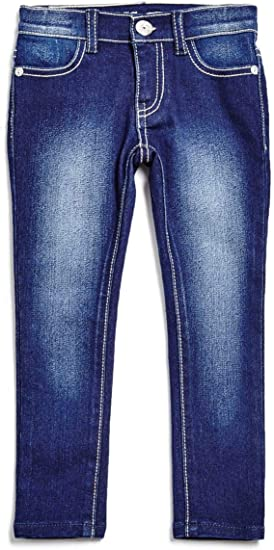 4-14 GUESS Factory Kids Girls Emily Power Skinny Jeans