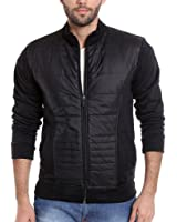 Campus Sutra Men's Quilted Synthetic Jacket