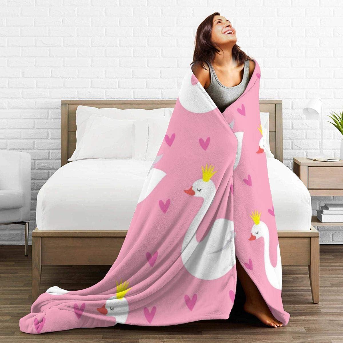 female-fancy-swan-themed-blankets