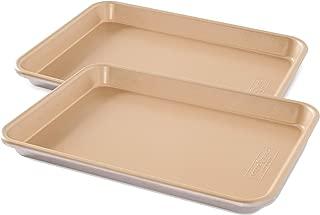 product image for Nordic Ware 45355AMZ Naturals Aluminum NonStick Baker's Quarter Sheet