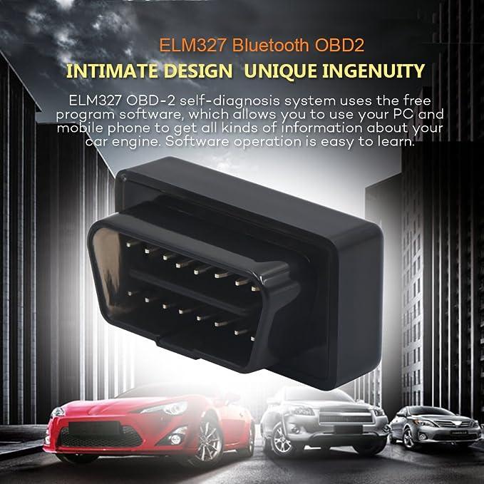 Amazon com: Wsiiroon Bluetooth OBD II Scanner, Upgraded Bluetooth