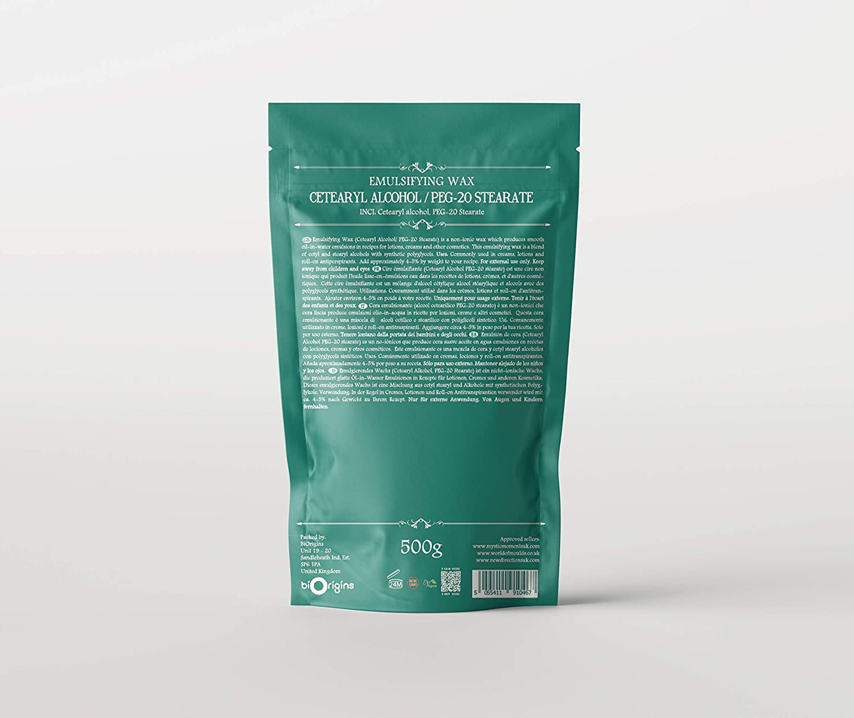 Amazon.com: Cera Emulsionante (cetearyl Alcohol/Estearato de ...