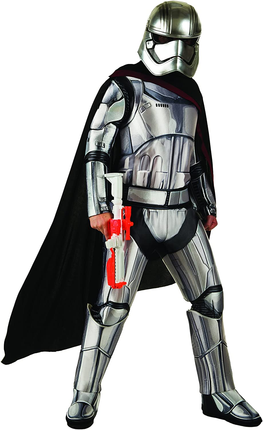 Generique - Disfraz Adulto Deluxe Capitán Phasma Star Wars VII XL ...