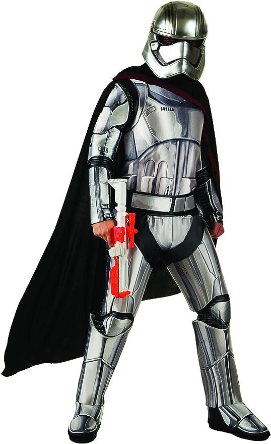 Star Wars Ep VII - Disfraz de Capitán Phasma para adulto, Talla ...
