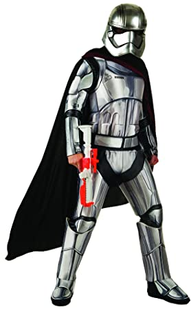 Star Wars Ep VII - Disfraz de Capitán Phasma para adulto, Talla única (Rubies 810670)