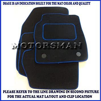 MAZDA BONGO Tailored Car Floor Mats