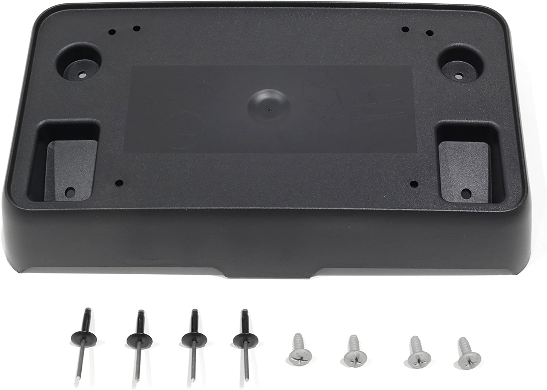 Chevy Silverado Front License Plate Holder Bracket Assembly OEM New 2014-2015
