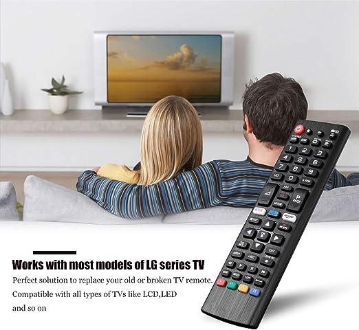 AKB75095308 Control Remoto Reemplazo Mando a Distancia LG Smart TV, No Se Requiere Configuración del Televisor Control Remoto Universal LG AKB74915324 AKB75095304 AKB75095305 AKB75095306: Amazon.es: Electrónica