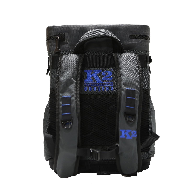 K2 Coolers Sherpa Backpack Cooler Dark Grey