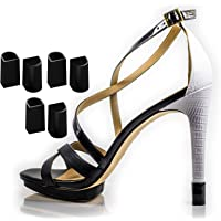 Heel Hunks Black H1-XXS 7-8mm 5-Pairs set Protectors Replacement Tip Caps for High Heel Shoes and Stiletto - Anti-Slip…