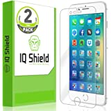 IQ Shield Screen Protector Compatible with iPhone 8 Plus (2-Pack)(Max Edge-to-Edge Coverage) Anti-Bubble Clear Film