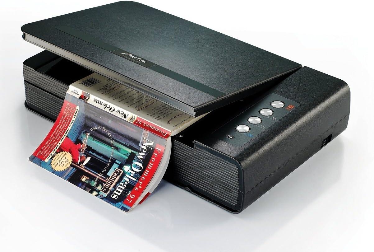 Nero Plustek OB4800 Scanner Professionale per Documenti