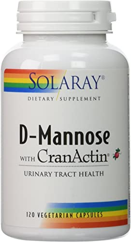 D-Mannose with CranActin Solaray 120 VCaps