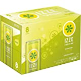 IZZE Fusions Lemon Lime Sparkling Beverage, 8 Count, 12 fl oz Cans