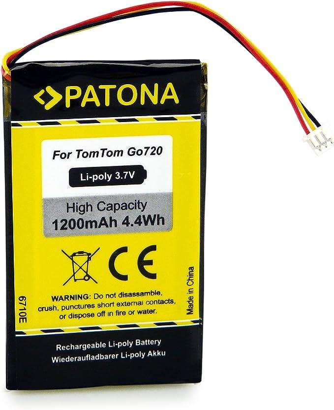 Patona Akku Kompatibel Mit Tomtom Go 520 530 630 720 730 920