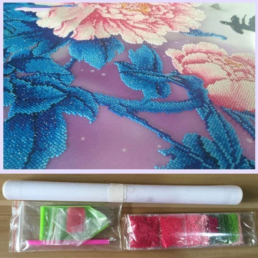 KOTWDQ Large Premium Full 5d Diamond Painting Kits for Adults Full Drill Bird Cross Stitch Arts Craft Canvas Wall Decor,17.7x17.7inch