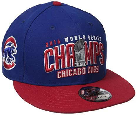 1f9f8e8b76740 Image Unavailable. Image not available for. Color  MLB Chicago Cubs 2016  World Series Champs OTC Hat ...