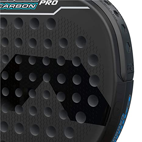 Varlion Cañon Hexagon Carbon Pro Black LTD Edition Palas, Adultos Unisex, Negro/Azul, 360-365 gr