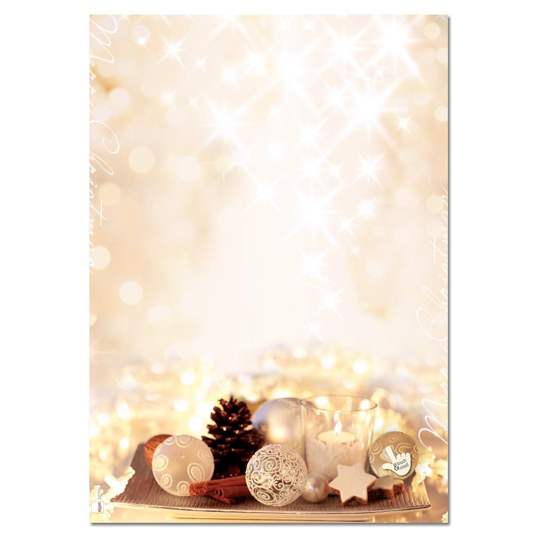Sigel DU221 Buste da lettere Natale, biscotti al panforte, DL (110x220 mm), 25 pz.
