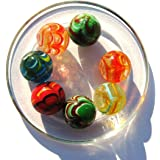 2 Calots SPIDER - FABRICATION ARTISANALE - Billes en verre de 25 mm