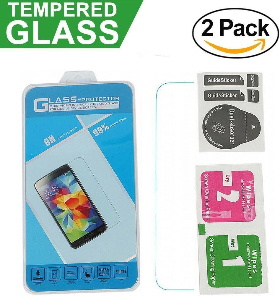 CANDY HOUSE LeEco Le S3 Protector de Pantalla, [2 Pack] Cristal Vidrio Templado Film Protector Pantalla Delgada Glass Screen Protector para LeEco Le S3: Amazon.es: Electrónica