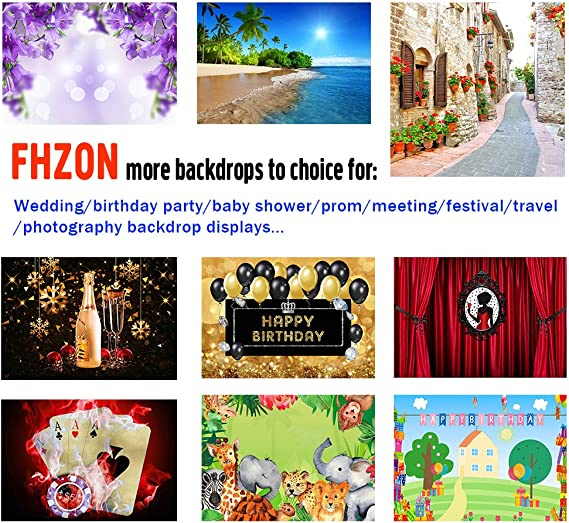 FHZON 10x7ft Beach Fun Maze Backdrop Adventure Treasure Hunt Background Theme Party Photography Wallpaper Photo Booth Prop BJZDFH56