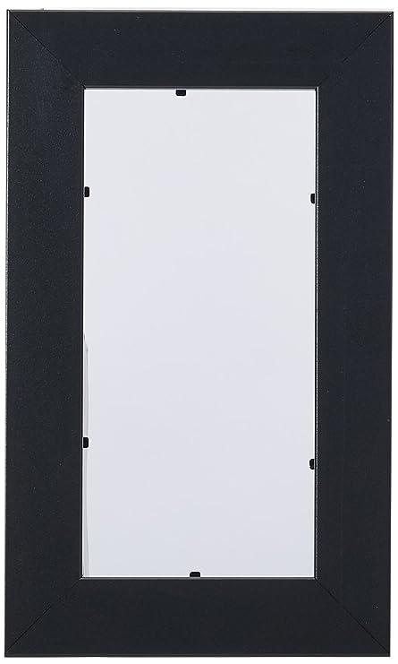 0f86c6a9e10 Amazon.com - ArtToFrames 4x8 inch Satin Black Picture Frame ...