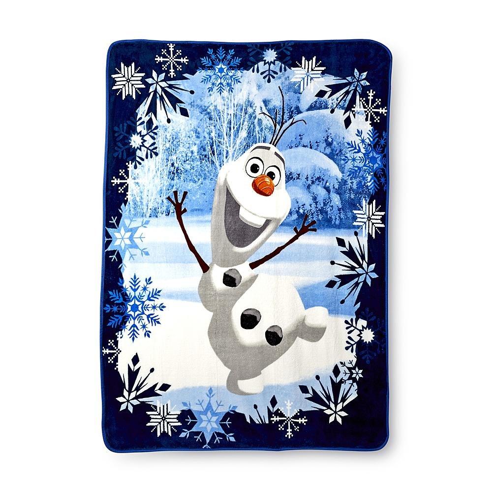 Disney Frozen Plush Throw Blanket Image 1