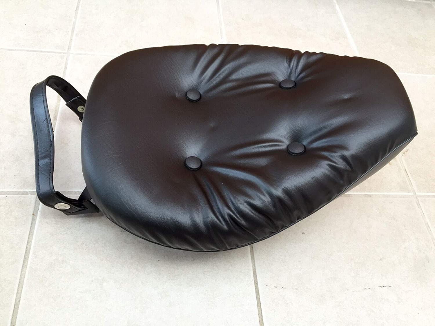 Sythentic Leather Seat Set Front /& Rear For Honda Rebel 250 CMX250