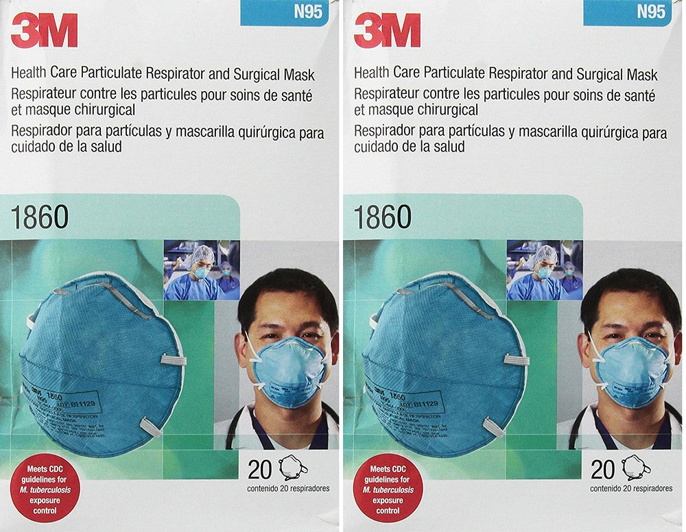 Amazon.com: 3M 1860 N95 RESPIRATOR AND SURGICAL qdtRv MASK, 20 Count (2 Pack): Wall Art