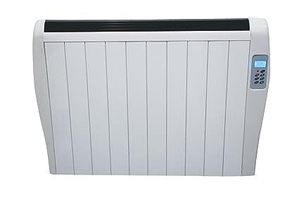 Chemin Arte 145 – Radiador por inercia cerámica, 1500 W, color blanco