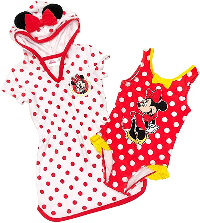 Amazon.com: Disney Minnie Mouse - Conjunto de vestido y ...