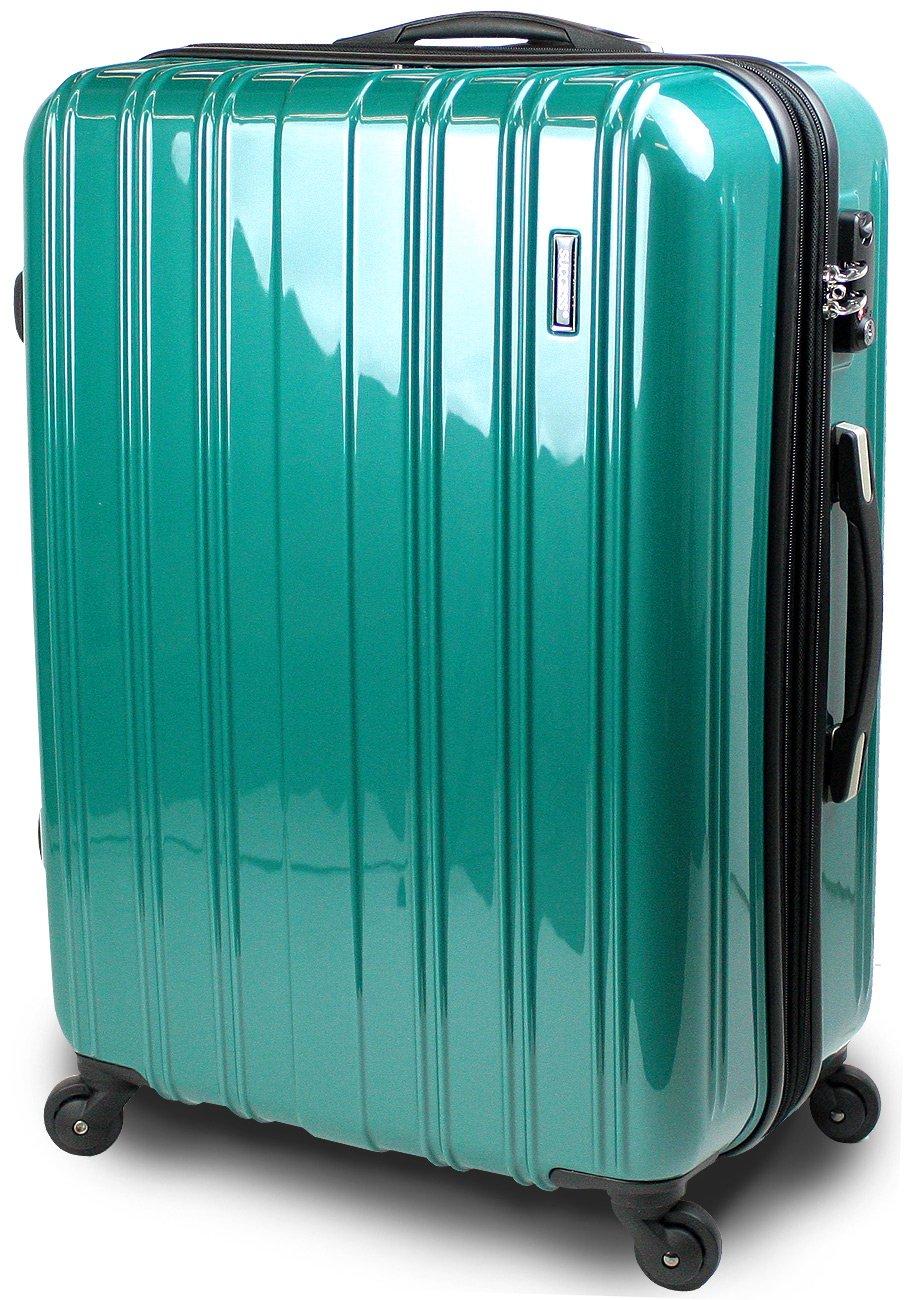【SUCCESS サクセス】 スーツケース 中型 TSAロック キャリーバッグ 超軽量 レグノライト2016 Mサイズ ミラー加工 B00BEEZV1O 中型 66㎝|ブリリアントグリーン ブリリアントグリーン 中型 66㎝