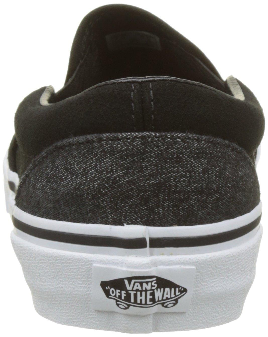 8010f2b33 Zapatillas de skate clásicas para hombre (Gamuza y aderezo) de Vans Negro  Negro
