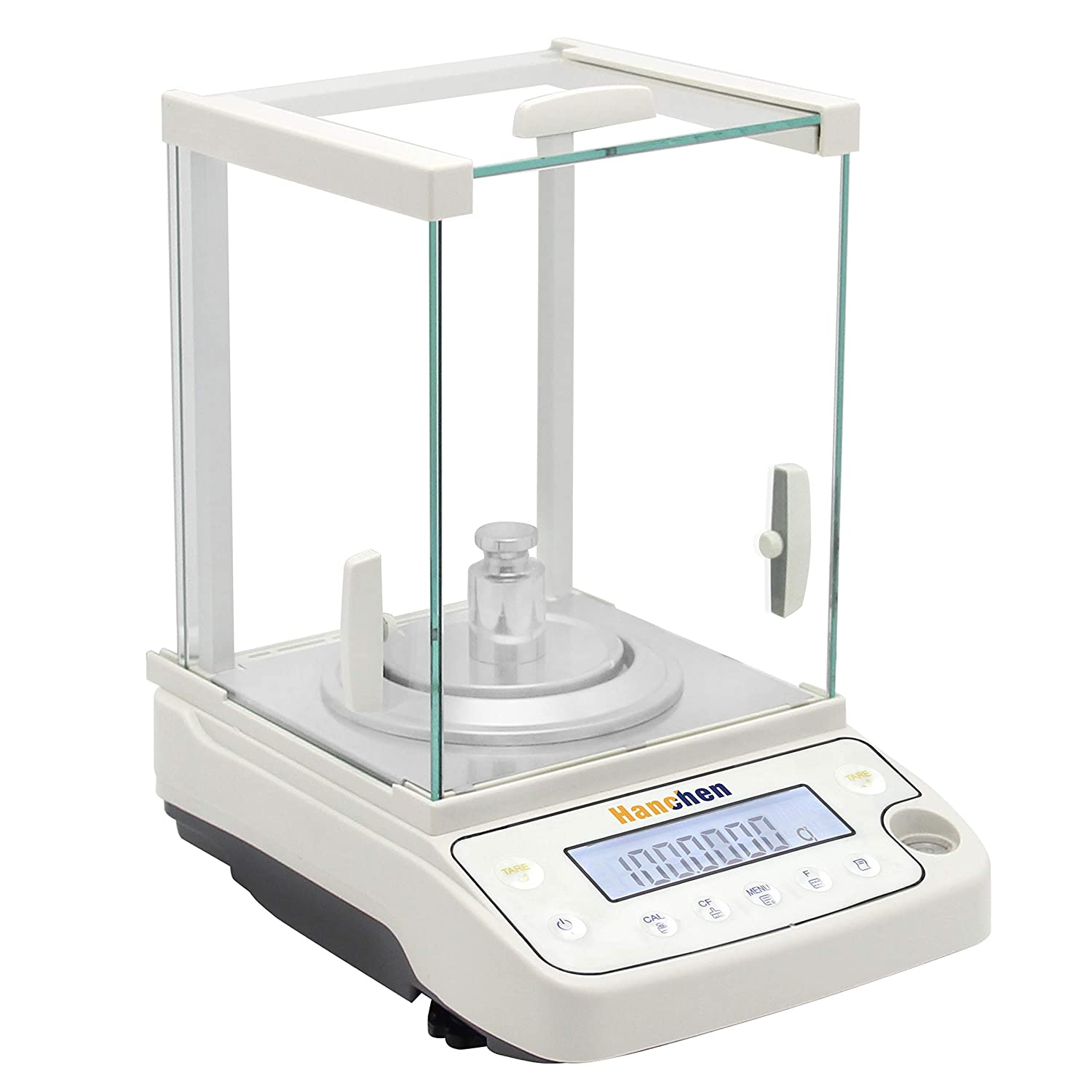 Hanchen Analytical Balance 220g/0.1mg Precise Electronic Scale 0.0001g Digital Balance for Jewelry Store Lab Pharmacy Chemical Plant (220g/0.1mg)