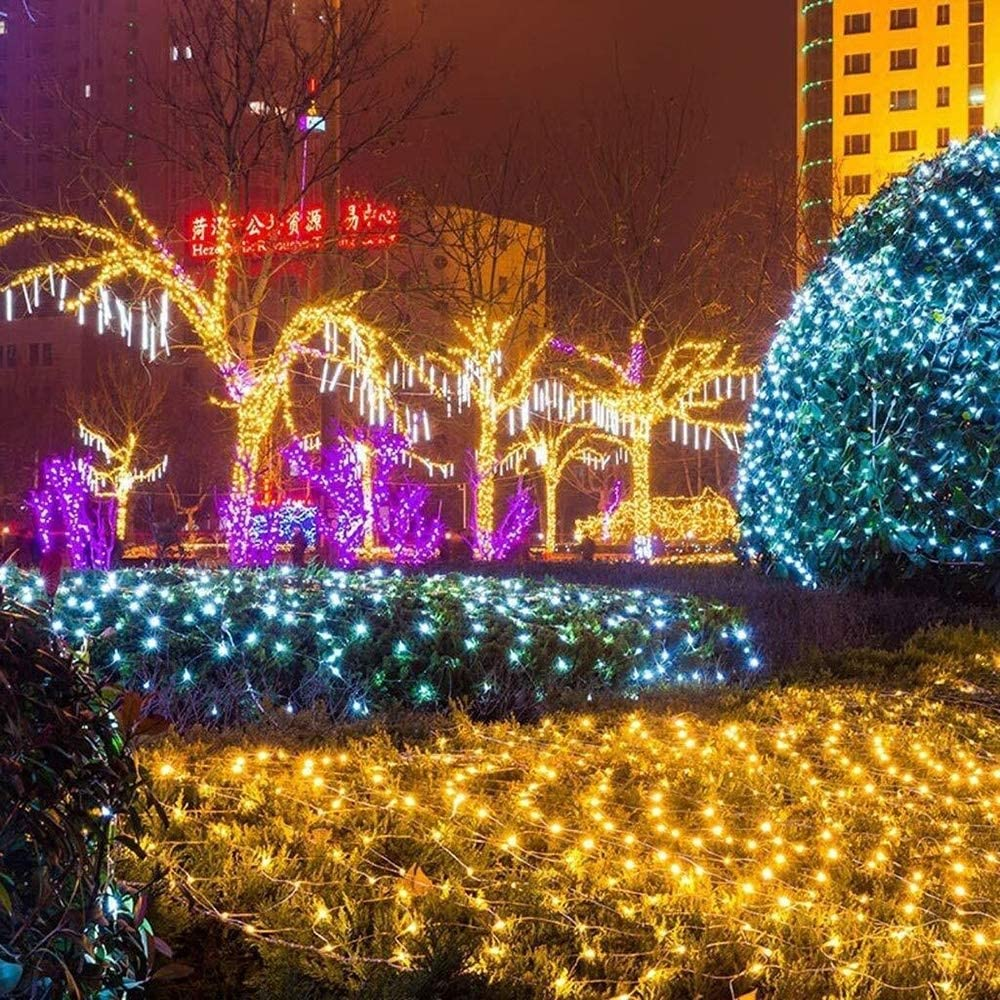 LIFEIYAN LED Lichterketten, 10-300M 100-3000LEDs Mit 8 Funkelndes Modi Fairy Lichter Schnur Der Indoor Dekorative Weihnachtsbeleuchtung For Gazebo Patio Weihnachtsbaum Zaun Hochzeit Ornament Girlande Pink-100m*600leds