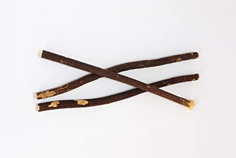 Natural Spa Supplies Ltd Wild Olive Black Miswak - Cepillo de dientes (3 piezas)