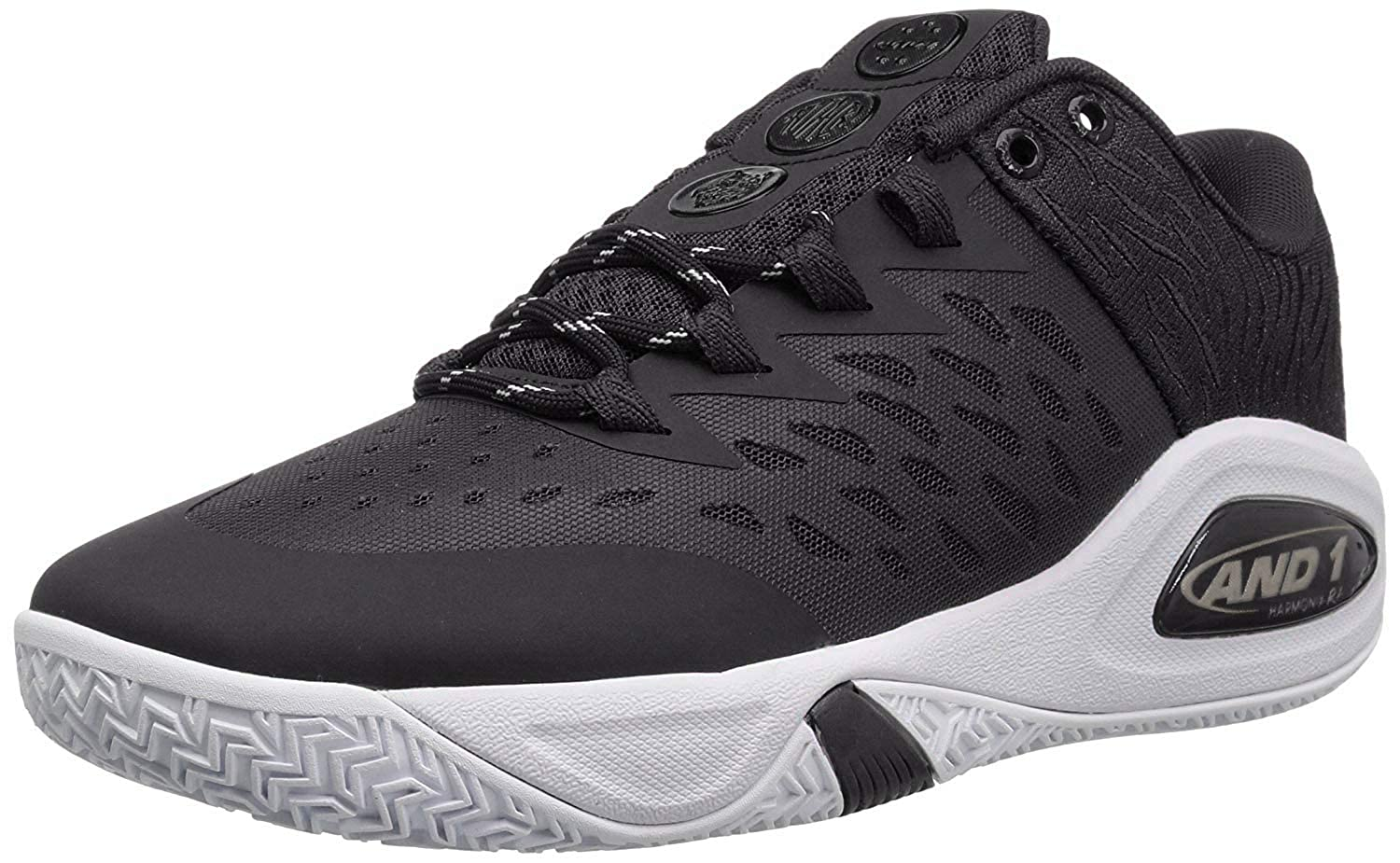 AND 1 Men s Attack Low Basketball Shoe