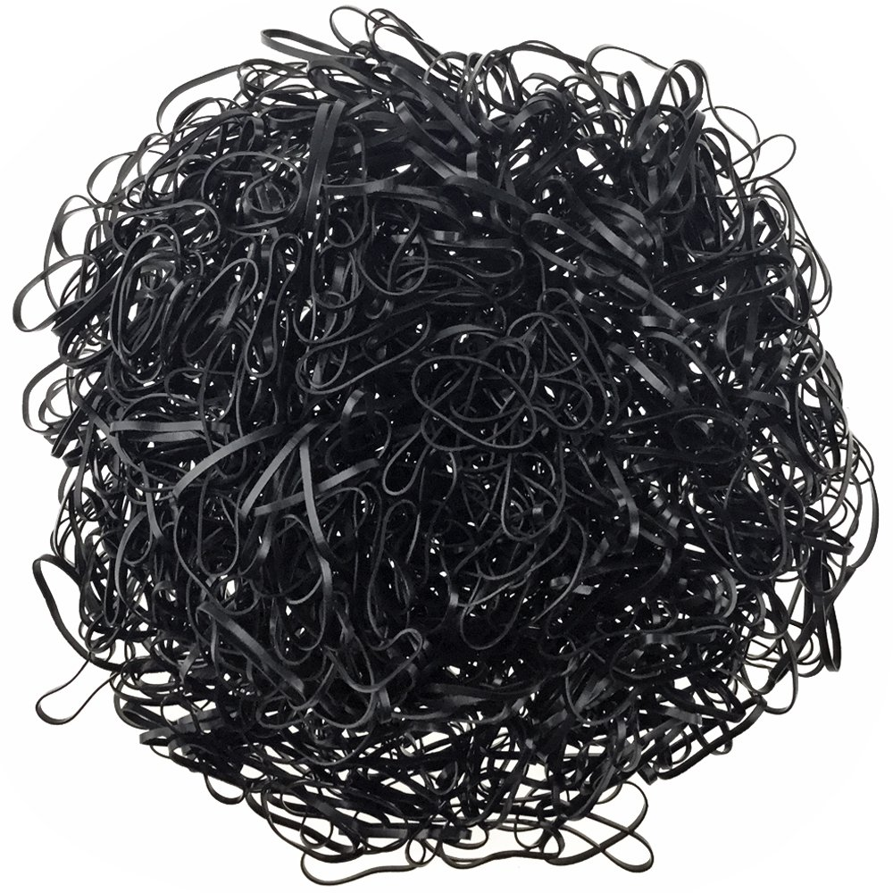 Amazon.com   Baby Girl Hair Rubber Bands YYM Bulk Extra Strength Small Size  Hair Holder Elastic Hair Ties Hair Accessories for Kids(Black)   Beauty a4222ccddc2