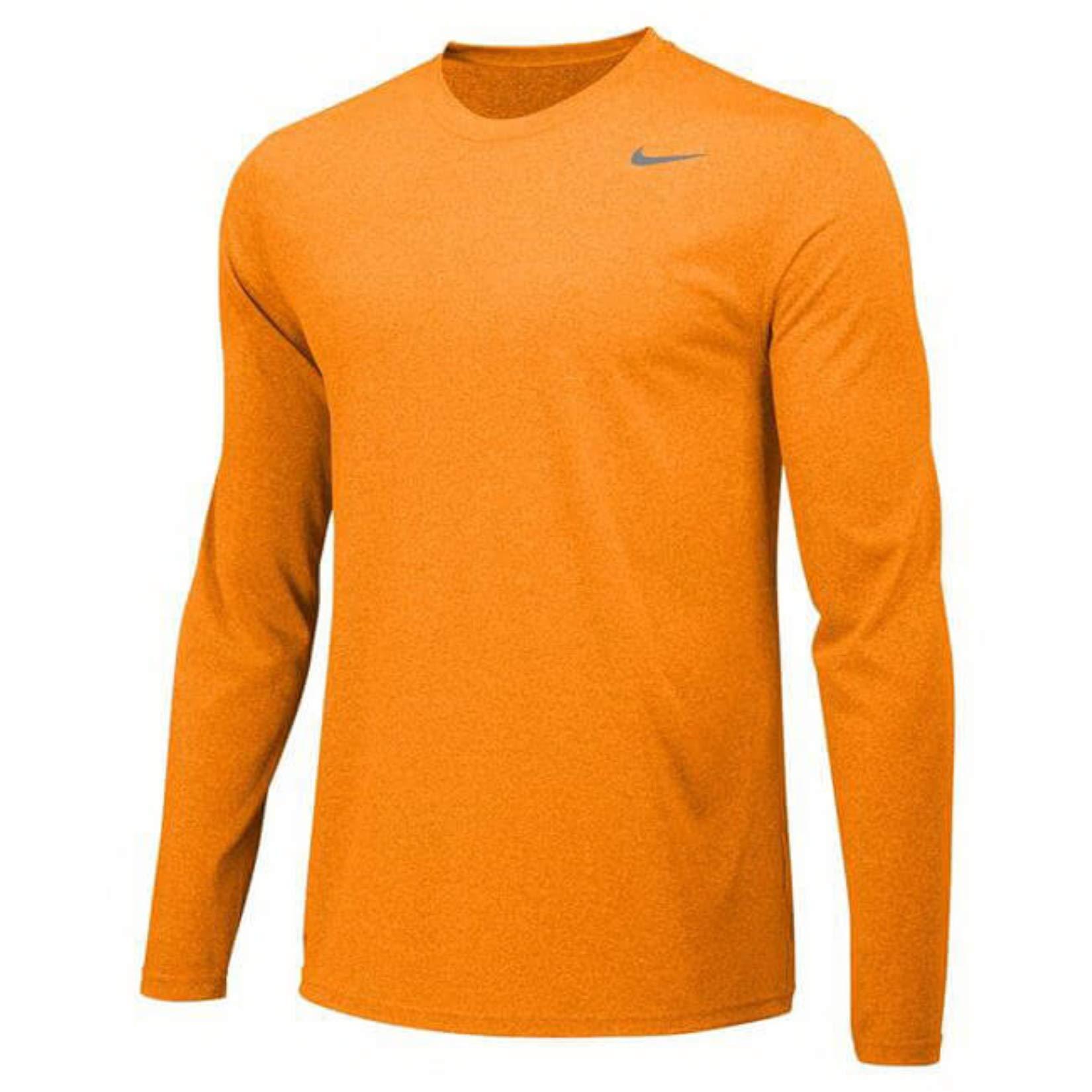 Nike Men's Legend Long Sleeve Tee (Small, Bright Ceramic/Cool Grey)
