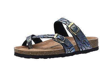 d840f8d44e18 CUSHIONAIRE Women s Luna Cork Footbed Sandal with +Comfort