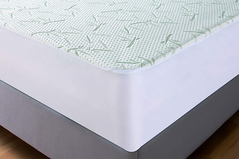 90 cm x 190 cm x 30 cm Prot/ège-Matelas ajust/é hypoallerg/énique Utopia Bedding Prot/ège-Matelas en Bambou imperm/éable