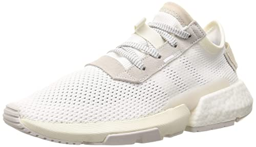 online store dd3bc d8e02 Adidas Mens Pod-S3.1 FtwwhtGreone Running Shoes-9 UK
