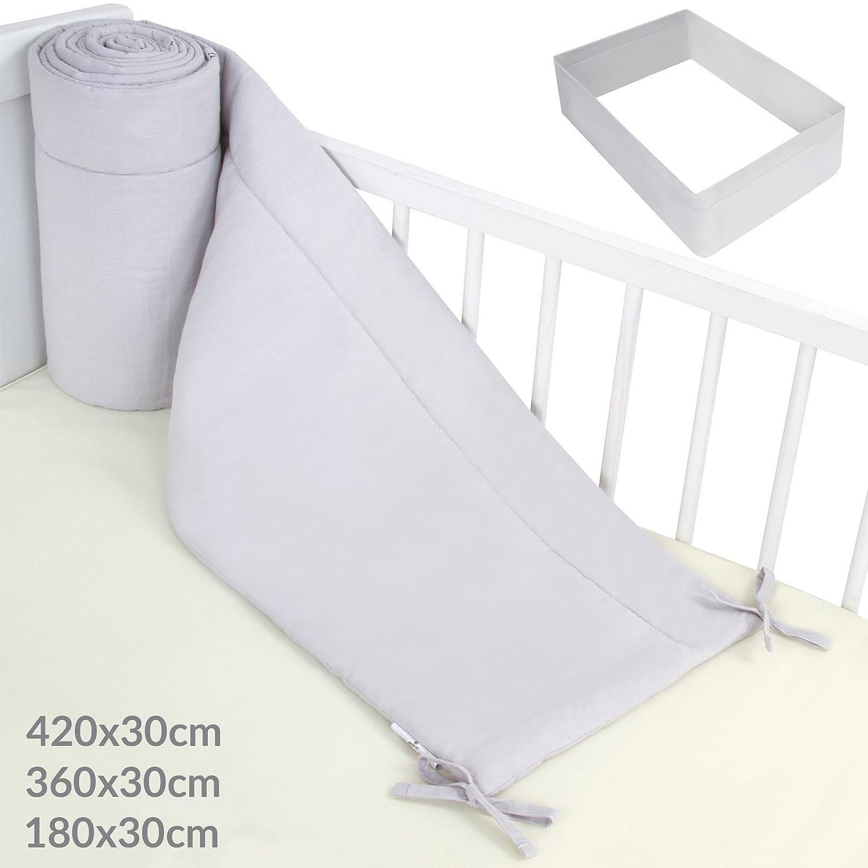 Infantastic Paracolpi per lettino culla neonato di cotone grandezza a scelta (S) BBNTH001A0gr000