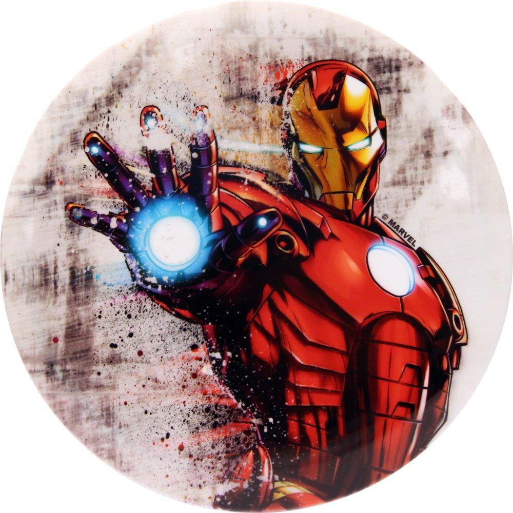 Dynamic Discs Marvel Avengers DyeMax Iron Man Ink Dispersion Fuzion Truth Midrange Golf Disc - 160-169g