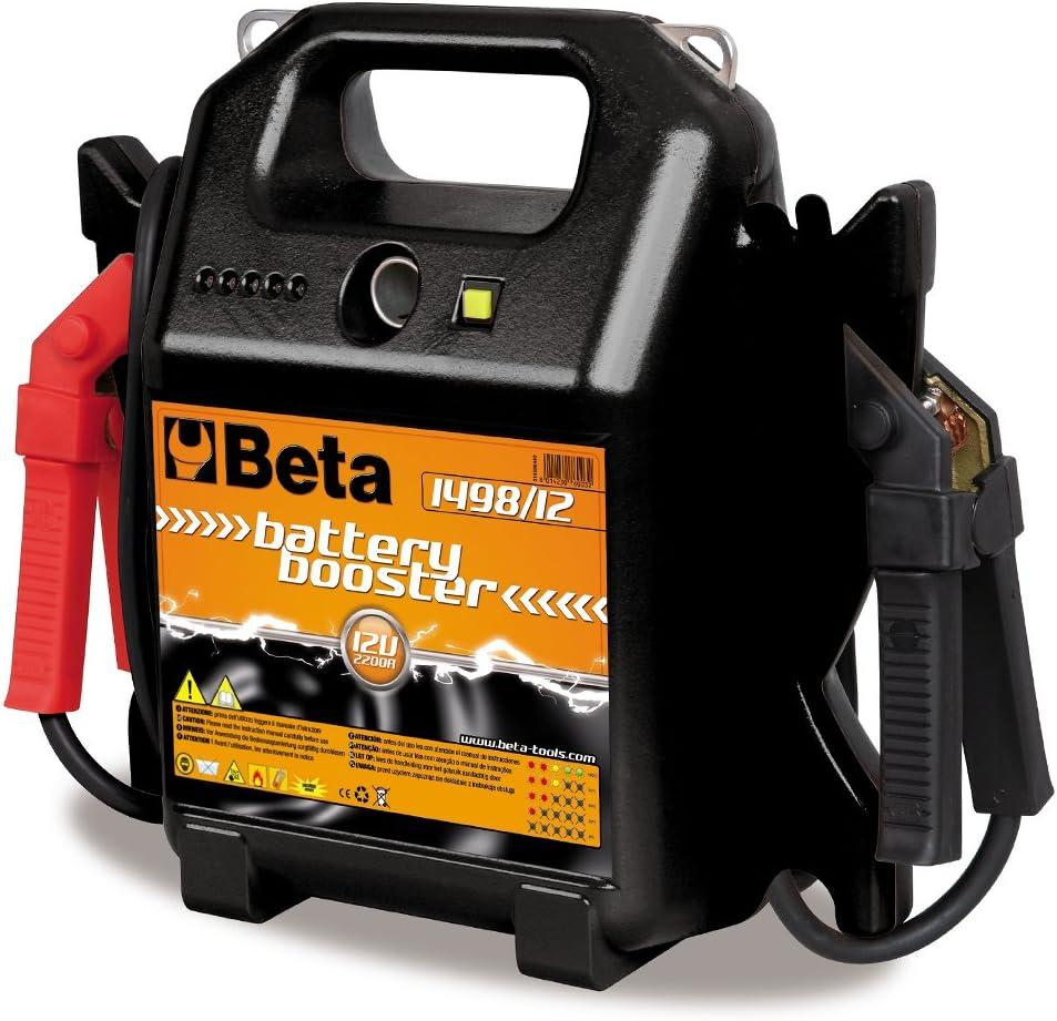 Negro Beta 1498//12 Arrancador Auto Port/átil de 12V