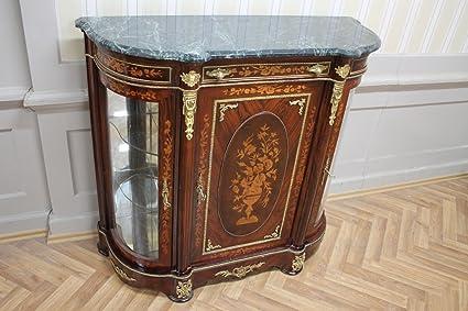 Credenza Barocca Moderna : Louisxv credenza in stile barocco antico marmo petto